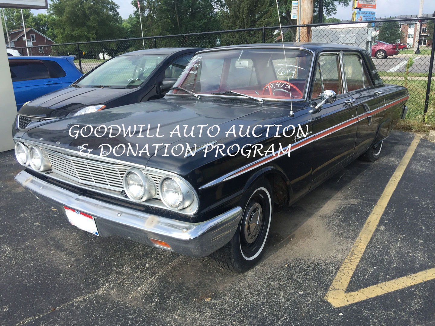 1964 FORD FAIRLANE 500-SALE DATE 8/10/19 | Goodwill Auto Auction