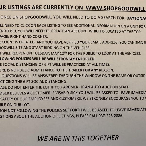 SIGN FOR SGW LISTINGS